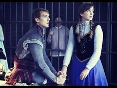 Anna and Kristoff Once Upon a Time Frozen costumes