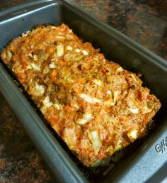 Sweet Potato Meatloaf