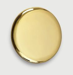 michael anastassiades | gold plated stainless steel mirror