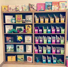Classroom library goals!