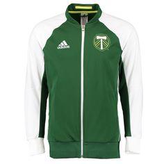 adidas Portland Timbers Anthem Jacket (Green)