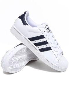 adidas superstar wit met lichtroze strepen