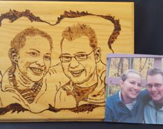Wood Burned Picture #WoodBurn #WoodBurning #WoodSign #WoodPicture #Handmade #MadeInMichigan