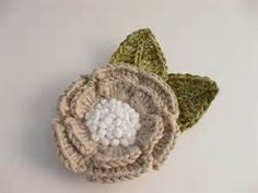 Crochet Brooch and Lapel Pins
