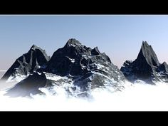 Making Mountain using Terrain Mask in Cinema 4D Tutorial - YouTube