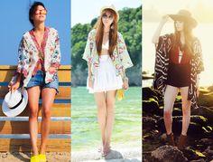 Inspiração: Kimono - Cellophane Blog