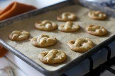 sugared pretzel cookies