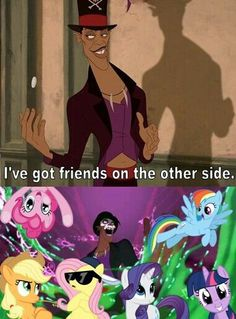 Dr Facilier is a brony...