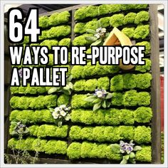 64 Ways to Re-purpose A Pallet  @ TinHatRanch