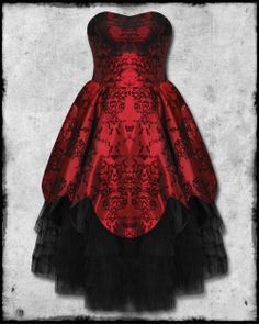 Hell Bunny Majesty Dress.  The only thing more awesome than the dress itself is the name the designer has bestowed upon it.