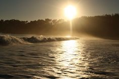 Sunset beach, San Simeon California