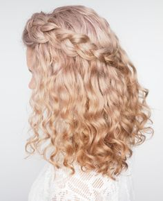 ICYMI I posted two videos up on my youtube channel there's a tutorial for this braid plus tips for braiding curly hair. I also tested the new Dyson diffuser in my hair and I give you my honest review. Look up hairromance tv or head to http://youtube.com/user/hairromancetv - love to know what you think! And let me know if you have any video requests xx