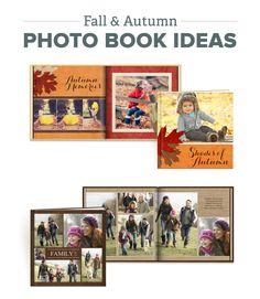Fall Photo Book Ideas #Mixbook