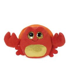 Lubby Cubbies 3.5   Snappy Crab Plush Toy  zulilyfinds f9476e69823