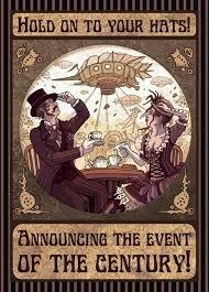 steampunk invitations