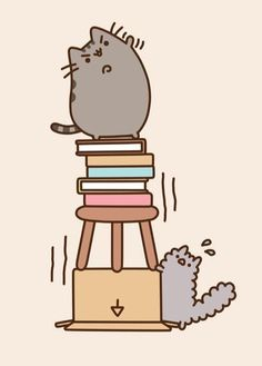 pusheen le plus grand le plus fore mdr mais surtout le plus mignon