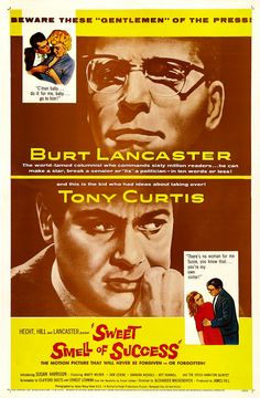 Belgian half sheet posters | Sweet Smell of Success - 1957 (One Sheet)