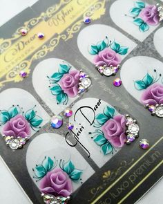 Manicures, Nails, E Design, Nail Art, Stickers, Nail Jewels, Chic Nails, Pretty Nails, Finger Nail Art