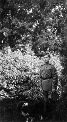 Tsarevich Alexei Nikolevich Romanov.