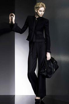 2009 spring fashion of Giorgio Armani
