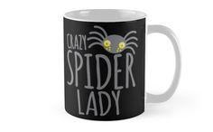 CRAZY SPIDER LADY by jazzydevil