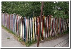 What to do with all the used ski'