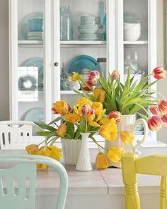 Inspiração... Decoração de Verão! Dicas de decoração para deixar a casa mais fresquinha no verão!Veja mais lá no blog. O link esta na bio❤Imagem Pinterest...#abrir_janela  #inspiracao #inspiracaododia  #inspiracaodecor #criatividade #decoração #decor...