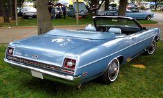 1969 Ford Galaxie 500 XL convertible