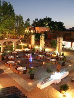 Mexican Hacienda Wedding   La Fleur Weddings