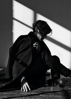 Black Shadows Dark Portrait.