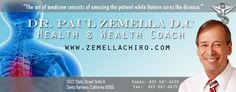 Zemella Chiropractic  Santa Barbara Chiropractor 3022 State St. Suite B Santa Barbara, CA 93105 Phone: 805-687-6629 Fax: 805-687-0675 Workout Gear, No Equipment Workout, Workout Exercises, Cancer Screening Tests, Santa Barbara California, Alcohol Is A Drug, State Street, Chiropractic Care, Lower Abs