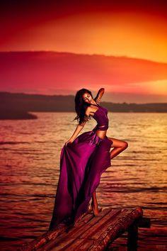 Svetlana Belyaeva beautiful photo, purple, sunset