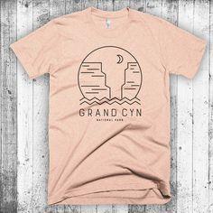Grand Canyon T-shirt, Arizona T-shirt, Grand Canyon National Park, Camping T-shirt, National Park Shirt, Hipster Modern T-shirt, Arizona Tee by CityandSky on Etsy https://www.etsy.com/listing/478620381/grand-canyon-t-shirt-arizona-t-shirt