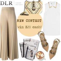 DLR LUXURY BOUTIQUE Contest with prize($20 cash) on Polyvore