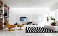Beautiful Minimalist Living Room Interior Design Ideas For More Enchanting Living Room Interior, Interior Design Living Room, Living Room Furniture, Living Room Designs, Design Room, Living Rooms, Interior Decorating, Minimalist Furniture, Minimalist Living