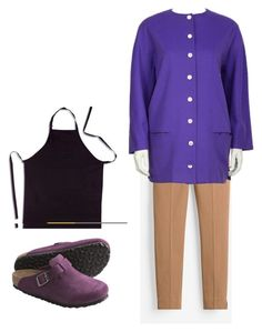 """nnn"" by dayleensteph on Polyvore featuring White House Black Market, Genny, Birkenstock, men's fashion y menswear"