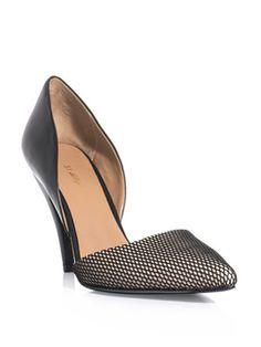 3.1 Phillip Lim Mesh toe shoes