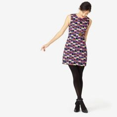 Vented Sheath Dress in Dancing Plaid #katespade #saturday
