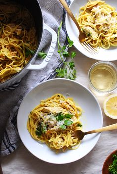 Turmeric Chicken Pasta