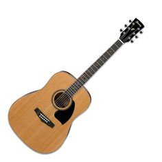 Ibanez PF17 Dreadnought Acoustic Guitar, Natural Low Gloss at Gear4Music.com