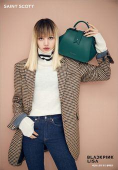 Black Pink turn into chic models for designer handbag brand 'Saint Scott'…