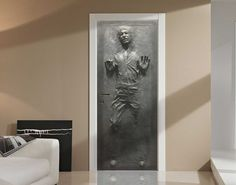 Turn Any Door into Han Solo Stuck in Carbonite (and how about that fridge?).