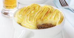 Recette de Hachis parmentier minceur à la purée au mascarpone. Facile et rapide à réaliser, goûteuse et diététique.
