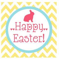 {Free Printable} Easter Gift Tags