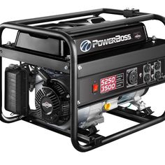 Briggs and Stratton PowerBoss 30667 Running Gas Powered Portable Generator 50 Amp Generator, Portable Generator, Rv Outlet, Tools, Running, Instruments, Keep Running, Why I Run