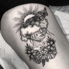 Dope Tattoos, Pretty Tattoos, Mini Tattoos, Unique Tattoos, Beautiful Tattoos, Leg Tattoos, Body Art Tattoos, Small Tattoos, Tatoos