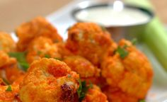 Here's a lower calorie alternative to Buffalo Wings. These Buffalo Cauliflower bites deliver that rich spicy flavor and are one of my favorite ways to enjoy cauliflower. Check out the video below to see how easy they are to make: Follow us on Pinterest >...
