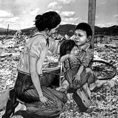 Ashes of Hiroshima unpublished image from a ... ;  Artist: Marty Jones; Art Form: Digital Art / Computer Art,Drawings / Sketch,Illustration ; Style: Fine Art,Realism ; Media: Digital,Pencil ; Genre: Cityscape,Documentary,Environmental art,Grotesque,Historical,Landscape,Memorial,Multicultural / Ethnic,Narrative,People,Propaganda,Protest,Spiritual,Window on the World