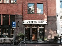 Koffietentje   Amsterdam   De Koffiesalon   't Bakkie