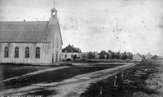 Vue de l'Église Notre-Dame et du Village de Roberval